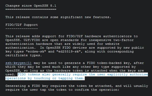 OpenSSH oznam